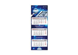 Kalendaarz trójdzielny Micro-tech 2015
