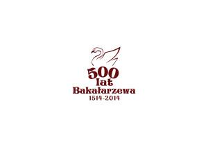 Logo 500 lat bakałarzewa 1514-2014