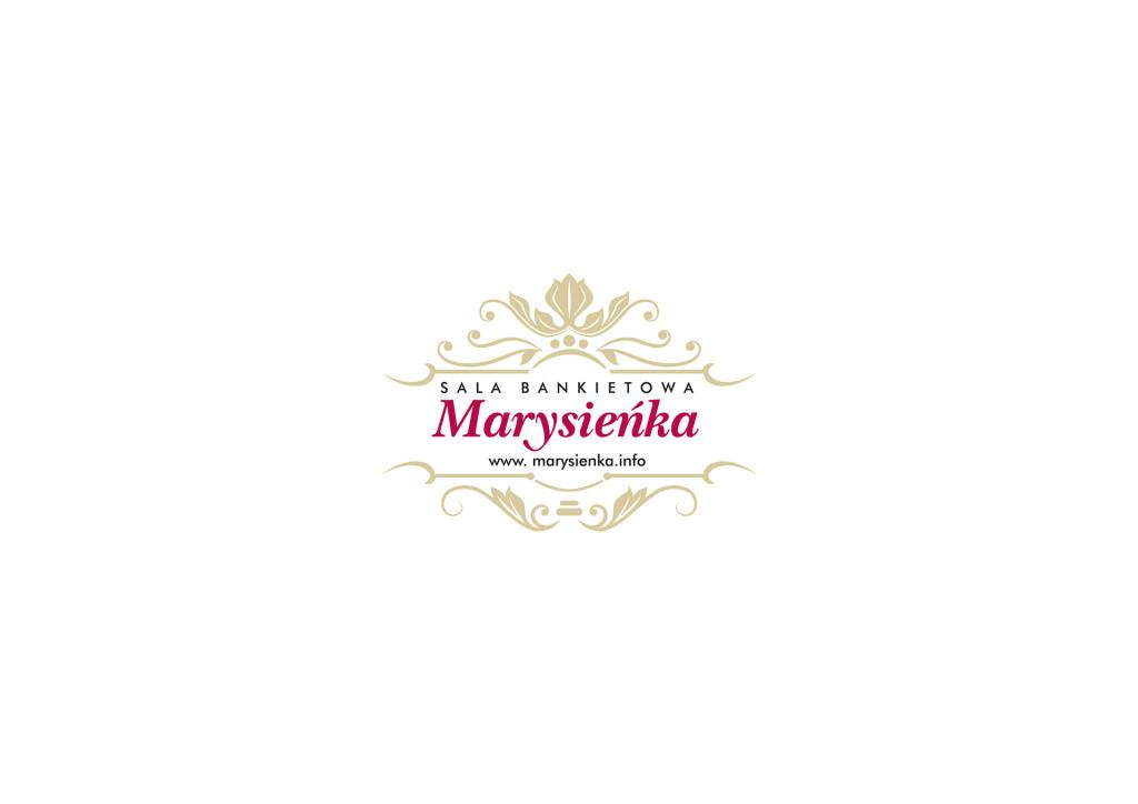 Projekt logo Sali Bankietowej Marysieńka