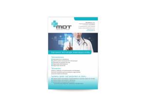 plakaty, ulotki MDT Medical Data Technology